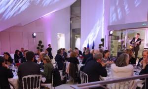 Diner - Exposition Centre Spirituel et Culturel Orthodoxe Russe 1-5 Quai Branly 75007 Paris - 3 novembre 2016. Avec 100% musique et Eric DAUPHIN